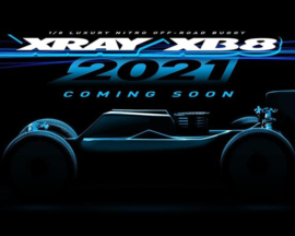 XRAY XB8 2021 - 1/8 LUXURY NITRO OFF-ROAD CAR X350016