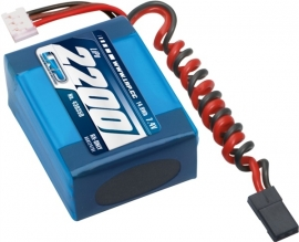 LRP VTEC LiPo 2200 RX-Pack small Hump - RX-only - 7.4V LRP430350