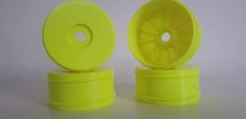 Wheel/ velg extra hard geel rcTOP25 (4)