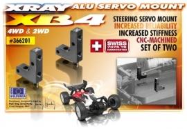 X366201ALU SERVO MOUNT - SWISS 7075 T6 (2)