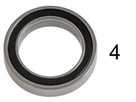 Bearing 13x19x4 2RS (10) TU2506-4
