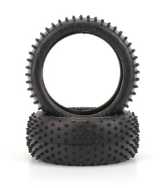 Mini Spike 1/8th Tyre - Silver (pr)  U6750