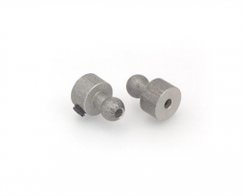 X303430	Alu Ball End 5 mm (2)