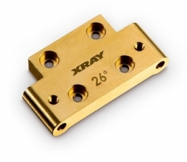 X322312 BRASS FRONT LOWER ARM MOUNT