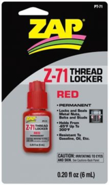 Thread Locker 6 ML RED PT71