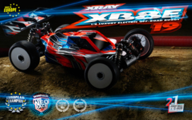 XRAY XB8E 2019 - 1/8 LUXURY ELECTRIC OFF-ROAD CAR X350156