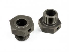 Alu Wheel Axle Offset +2mm Hard Coated (2) X355252