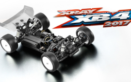 Xray XB4 4WD- 2017 specs - 1/10 Electric Off-Road Car X360004