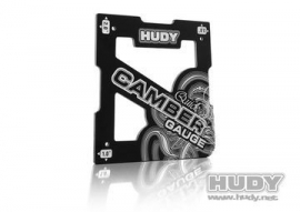 Hudy Quick Camber Gauge 1/8 Off-Road 2, 3, 4deg H107751