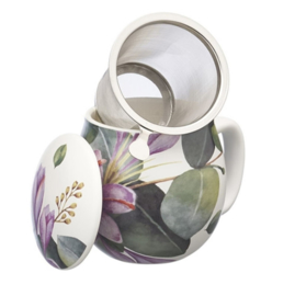 Theemok Purple Flowers, Fiori Viola