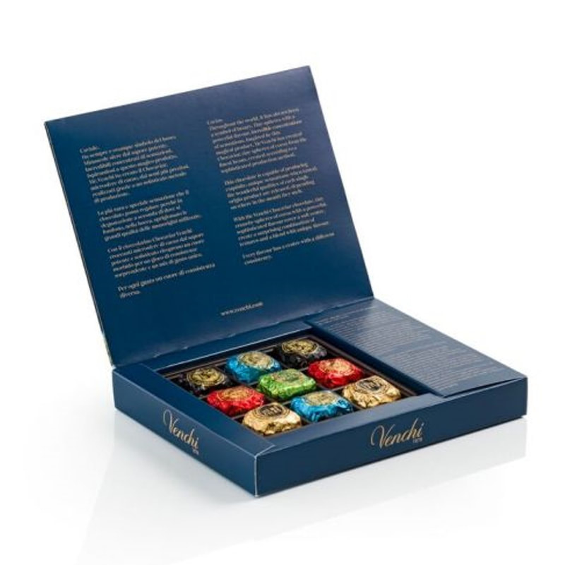 Chocaviar Blue Gift Box