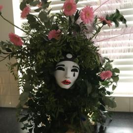 bedrijfsfeestje bloemschikken