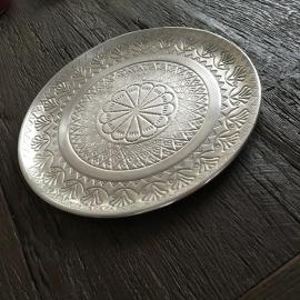 plateau old grey silver