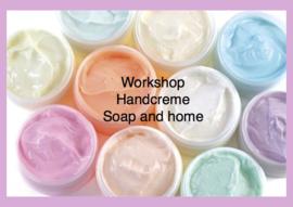 Handcreme en zeep