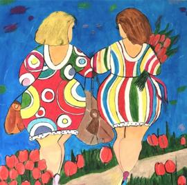 Dikke dames Tulpen