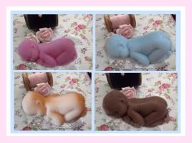 Lief klein babyzeepje (per 10 stuks)
