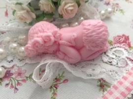 Baby Girl zeepje (per 10 stuks)