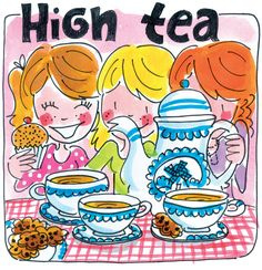 High Tea kids and soap