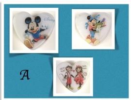 Mickey en Minnie Mouse zelfmaakpakketje (per kind)