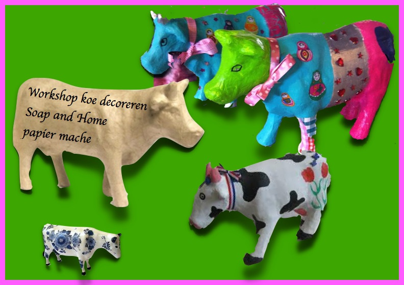 Workshop koe decoreren