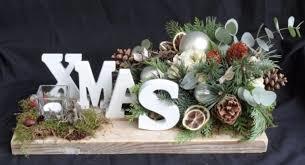 Kerststuk XMAS