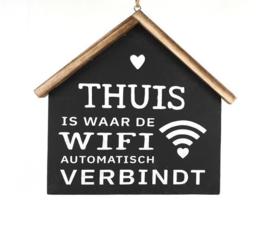 Tekstbord 'Wifi'