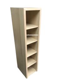 Kolomkast/Handdoekenkast 'Jesse' zonder deur van eikenhout