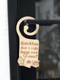 Sinterklaas deurhanger