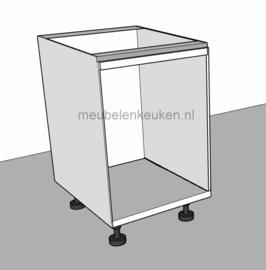 Onderkast t.b.v. oven 595 mm en 2 blendes GREEPLOOS