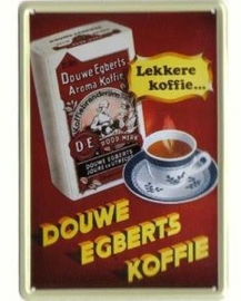 Douwe Egberts koffie 20 x 30 cm