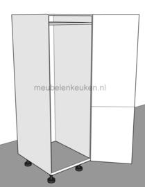 Inbouwkast t.b.v. inbouw koel- vriescombinatie 1780 mm