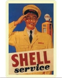Shell Service 20 x 30 cm