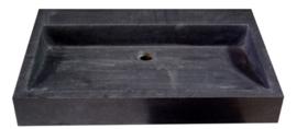 Wastafel Limestone  70x45x10cm Zonder Kraangat