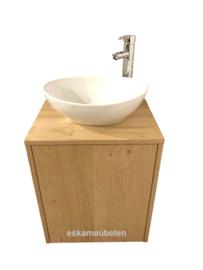 Toiletmeubel 'Thierry' eikenhout