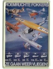Roemruchte Fokkers 20 x 30 cm