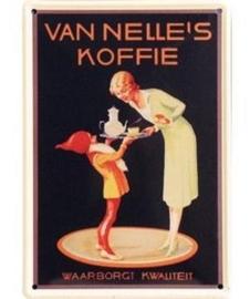 Van Nelle's koffie 20 x 30 cm