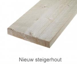 Nieuw steigerhout (geschuurd)
