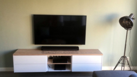 Tv meubel 'Ludwig' van eiken en melamine