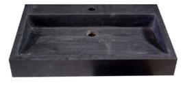 Wastafel Limestone  70x45x10cm Met Kraangat