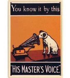 His Master's Voice 20 x 30 cm