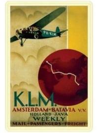 KLM Batavia 20 x 30 cm