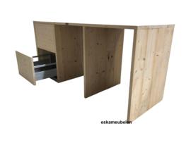 Wasmachine ombouw met 2 extra lades