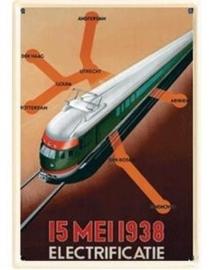 Spoorwegen 20 x 30 cm