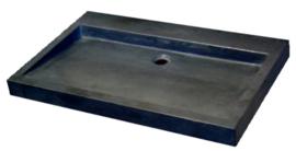 Wastafel Limestone  70x45x6cm Zonder Kraangat