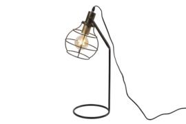Tafellamp met open kap