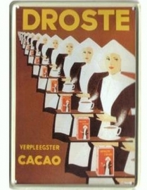 Droste verpleegster Cacao 20 x 30 cm