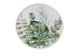 Wanddecoratie Botanisch (diameter 60 cm)