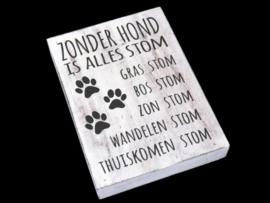 Tekstblok 'Hond'