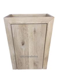Toiletmeubel 'Marie' van eikenhout