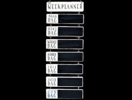 Weekplanner Antique White